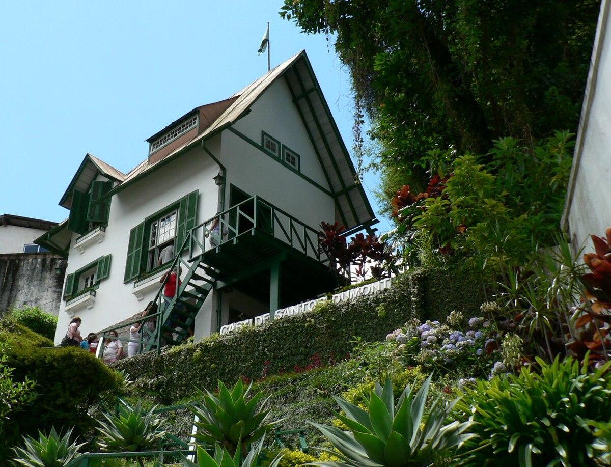 Museu casa de santos dumont wikip dia a enciclop dia livre for Creador de casas