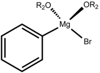 Phenylmagnesium bromide, OR2 = ether or THF
