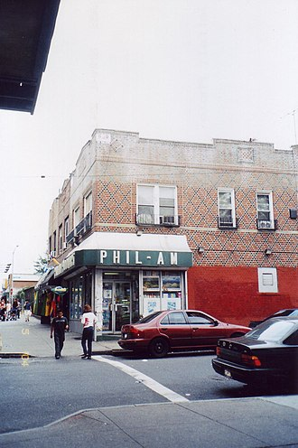 Filipinos in the New York metropolitan area - The Phil-Am grocery store in Woodside.