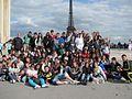 Photo de groupe lors du voyage d'étude en France 2011.jpg