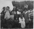 Photograph of Knik Chief Nikaly and His Family Near Anchorage, Alaska - NARA - 532338.tif