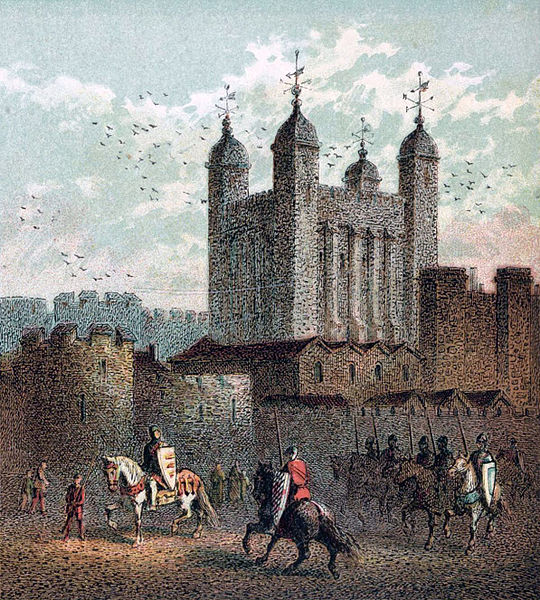 File:Pictures of English History Plate XIV - The Tower of London.jpg