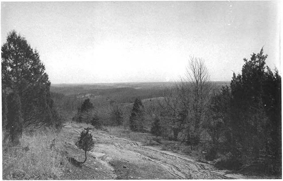 Piedmont Plateau Plate XXXVII WBClark 1898