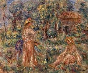 Girls in a Landscape (Jeunes filles dans un paysage)