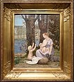 Pierre puvis de chavannes, giovane madre (la carità), 1887 ca..JPG