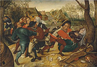 Pieter Brueghel the Younger - A country brawl
