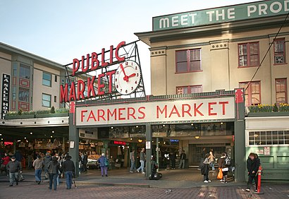 Cómo llegar a Pike Place Market en transporte público - Sobre el lugar