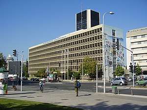 World Zionist Organization - Offices of WZO in Tel Aviv