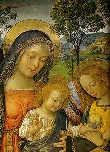 Madonna of Peace (Pinturicchio) - Wikiwand