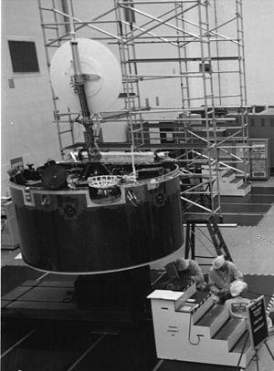 Pioneer Venus Orbiter - Pioneer Venus 1 at KSC.