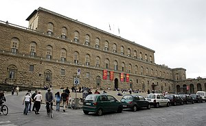 front of Pitti Palace