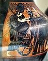 Pittore di princeton, anfora attica con partenza di guerrieri, 540-530 ac. ca., dalla tomba dei vasi greci alla banditaccia 02 atena.jpg