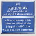 Plaque de -rue Marcel Weinum (Neudorf)-02.JPG