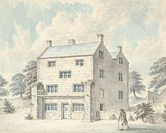 Mostyn baronets - Plas Mostyn. The original seat of the Mostyn family, 1793