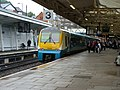 Platform 3 and a class 175 train heading for Manchester - geograph.org.uk - 1459546.jpg