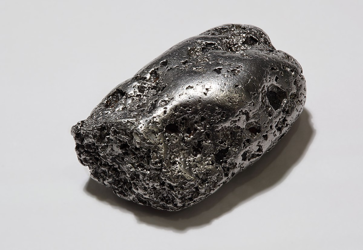 Metal nativo wikipedia la enciclopedia libre for Metal rodio en joyeria