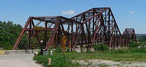 Plattsmouth Bridge - View from Nebraska side