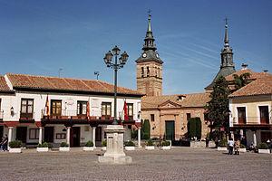 Navalcarnero - Image: Plaza de Segovia de Navalcarnero