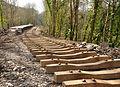 Plymbridge Halt under construction.jpg