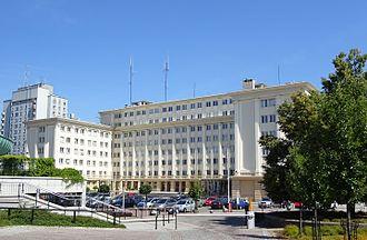 Rzeszów - Provincial council headquarters (Urząd Wojewódzki) in Rzeszów