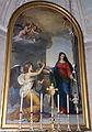 Poggio imperiale, cappella della Santissima Annunziata, int., vestibolo, antonio ciseri, annunciazione.JPG