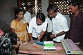 Polling officials checking the Electronic Voting Machines (EVM`s) and other necessary inputs required for the Assembly Election, in Tamil Nadu on April 13, 2011.jpg
