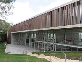 Van Leer Jerusalem Institute - Side view of the Polonsky Academy for Advanced Studies building.