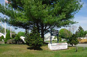 Pompton Lakes, New Jersey - Veterans Memorial Park.