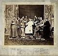 Pope Pius IX and Roman Catholic priests; group portrait. Wellcome V0027477.jpg