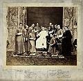 Pope Pius IX and Roman Catholic priests; group portrait. Wellcome V0027477.jpg