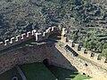 Pormenor da muralha do castelo de Belver.jpg