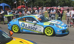 Porsche Carrera Cup Australia Championship - Steven Richards won the 2014 Championship
