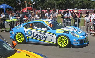 Steven Richards - Richards won the 2014 Australian Carrera Cup Championship