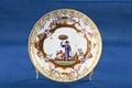 Porslinstallrik dekorerad med kineserier från Meissen 1723 - Hallwylska museet - 93912.tif