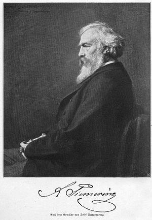 Rudolf Siemering - Image: Portrait des Bildhauers Rudolf Siemering