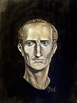 Portrait of Julius Caesar (color)