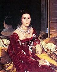 Portrait de Madame de Senonnes