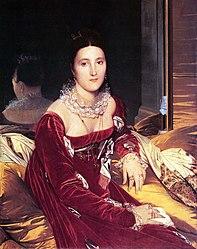 Jean-Auguste-Dominique Ingres: Portrait de Madame de Senonnes