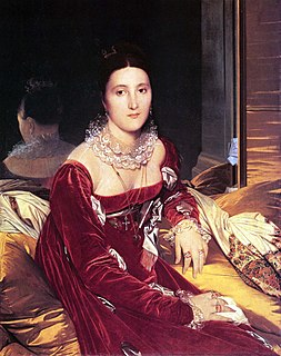 <i>Portrait of Madame de Senonnes</i> painting by Ingres
