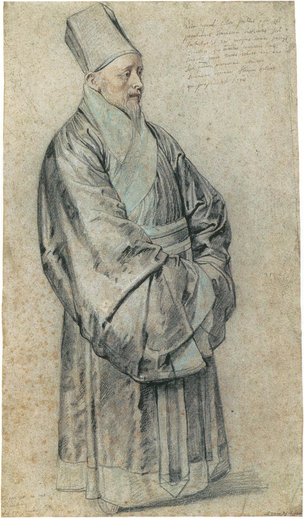 Portrait of Nicolas Trigault by Peter Paul Rubens