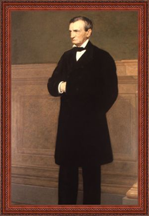 Jared Bradley Flagg - Image: Portrait of William Evarts New York Supreme Court