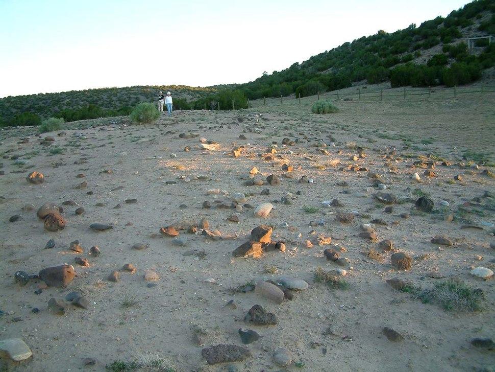 Poshuouinge ruins