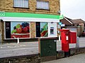 Postbox, Castle Road - geograph.org.uk - 1734206.jpg