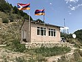 Poste-frontière Arménie-Karabagh sur la route Vardenis-Mardakert.JPG
