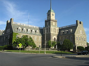 Poughkeepsie Journal - Historic headquarters in downtown Poughkeepsie