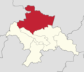 Powiat głogowski - lokalizacja gminy Kotla.png