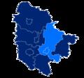 Powiat trzebnicki granice gmin i miast Trzebnica.png