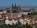 Pražský hrad, od Strahova.jpg