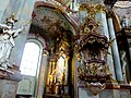 Prag, Kleinseite – Innenaufnahme der St.-Nikolaus-Kirche - Praha, Malá Strana - Interiér snímek kostela svatého Mikuláše - panoramio.jpg