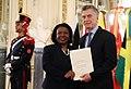 Presentación de cartas credenciales - Embajadora de Jamaica.jpg